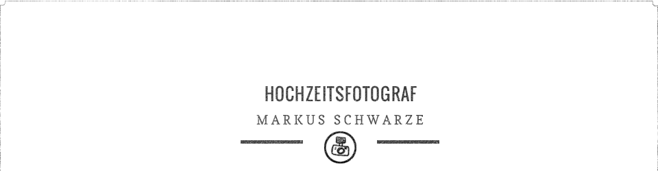 Hochzeitsfotograf Markus Schwarze logo