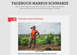 Tagebuch Markus Schwarze